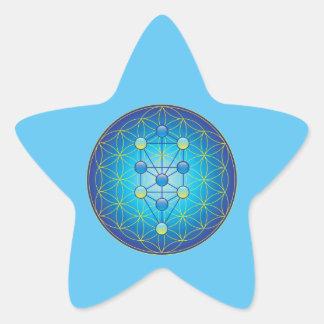 Adesivo Estrela Árvore de vida