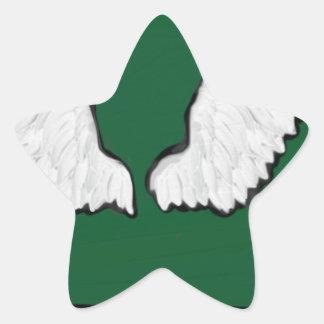 Adesivo Estrela Asas resistentes de Norht Dakota