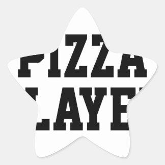 Adesivo Estrela Assassino da pizza