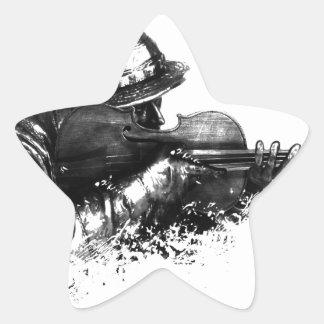 Adesivo Estrela atirador furtivo do violino