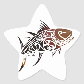 Adesivo Estrela Atum