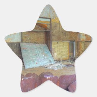 Adesivo Estrela Auditório 01,0, lugares perdidos, Beelitz