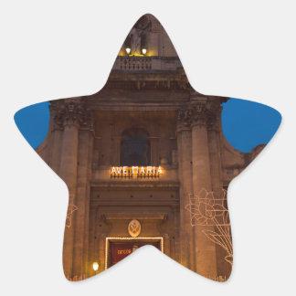 Adesivo Estrela Ave Maria Church em Catania