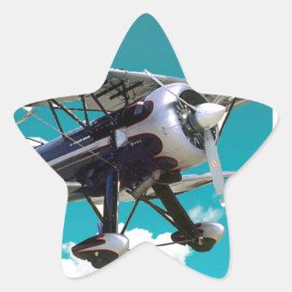 Adesivo Estrela Avião velho