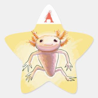 Adesivo Estrela aXolotl