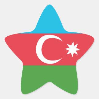 Adesivo Estrela Azerbaijao
