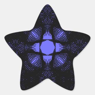 Adesivo Estrela azul