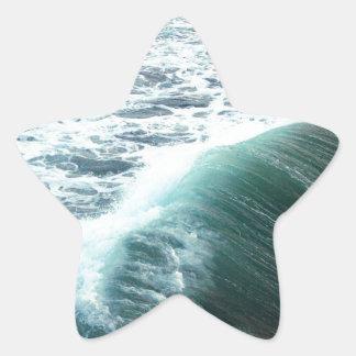 Adesivo Estrela Azul de Oceano Pacífico