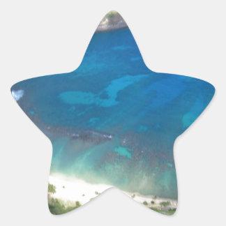 Adesivo Estrela Baía Havaí de Hanauma