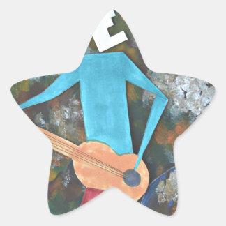 Adesivo Estrela Balançando o cosmos