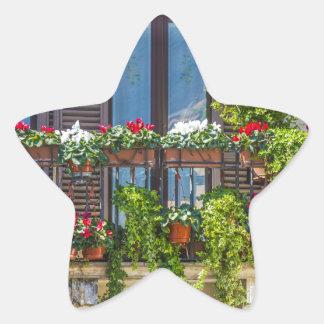 Adesivo Estrela balcuny no navona da praça