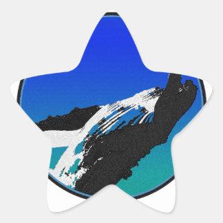Adesivo Estrela Baleia