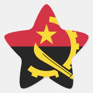 Adesivo Estrela Bandeira de Angola - Bandeira de Angola