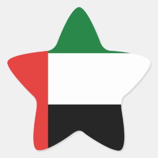 Adesivo Estrela Bandeira de Emiradosarabes