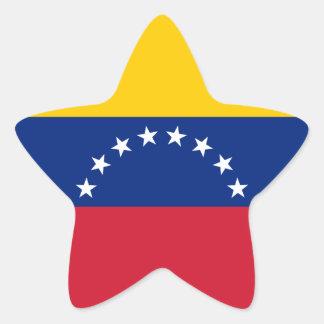 Adesivo Estrela Bandeira de Venezuela