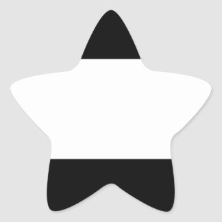 Adesivo Estrela Bandeira incorporada do logotipo