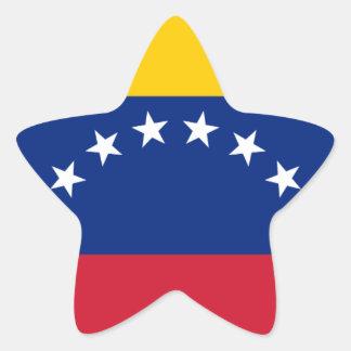 Adesivo Estrela Bandeira venezuelana - bandeira de Venezuela -