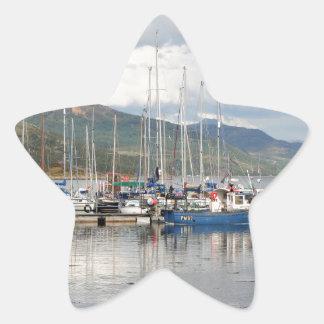 Adesivo Estrela Barcos em Kyleakin, ilha de Skye, Scotland