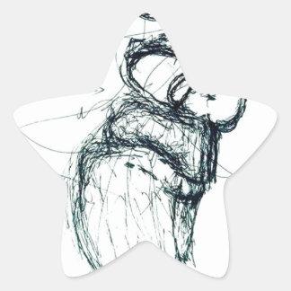 Adesivo Estrela berço dos gatos do Lao-tzu'; s