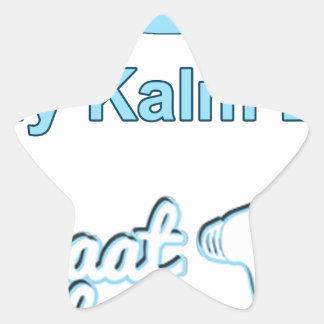Adesivo Estrela Bly-Kalm-En-Praat-Holandês sul-africano