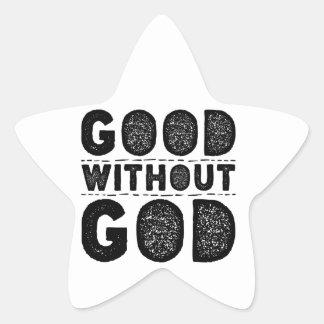 Adesivo Estrela Bom sem deus
