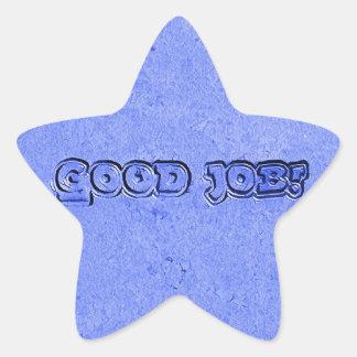 Adesivo Estrela Bom trabalho