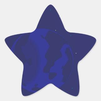Adesivo Estrela Borrão da galáxia