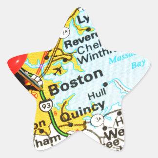 Adesivo Estrela Boston, Massachusetts