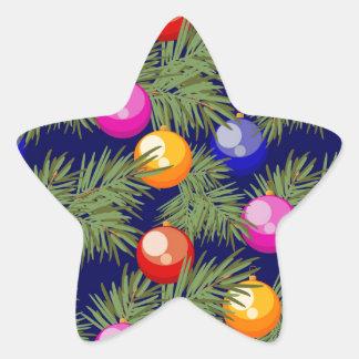 Adesivo Estrela brinquedos da árvore