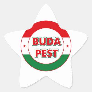 Adesivo Estrela Budapest, circle, color