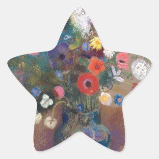 Adesivo Estrela Buquê das flores - Odilon Redon