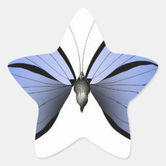 Adesivo Estrela Caçador azul do Azure da borboleta 2