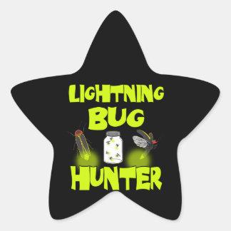 Adesivo Estrela caçador do inseto de relâmpago