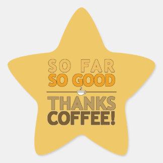 Adesivo Estrela Café dos obrigados