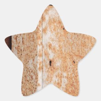Adesivo Estrela Caixa postal oxidada fora