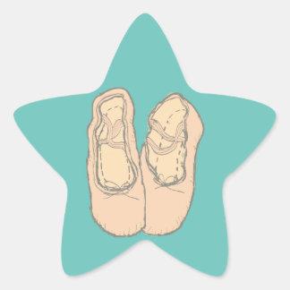 Adesivo Estrela Calçados de balé