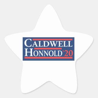 Adesivo Estrela Caldwell Honnold 2020