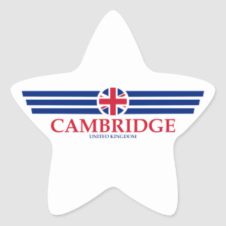 Adesivo Estrela Cambridge