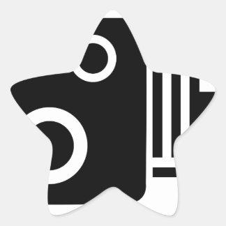 Adesivo Estrela Câmera de Sopeed
