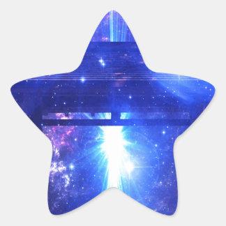 Adesivo Estrela Caminho iridescente a em qualquer lugar