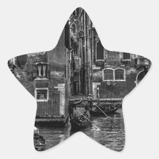 Adesivo Estrela Canal do barco da gôndola de Veneza Italia