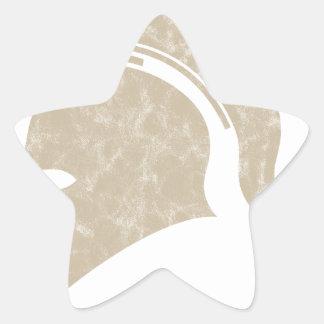 Adesivo Estrela capacete