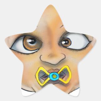 Adesivo Estrela Cara da baía B