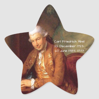 Adesivo Estrela Carl Friedrich Abel