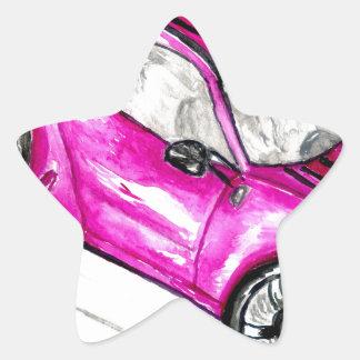 Adesivo Estrela Carro desportivo Sketch2