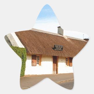 Adesivo Estrela Casa de campo de Robert Burns, Alloway, Scotland