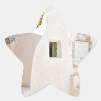 Adesivo Estrela Casa em Santorini