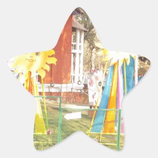 Adesivo Estrela celebrati dos festivais das decorações da luz do