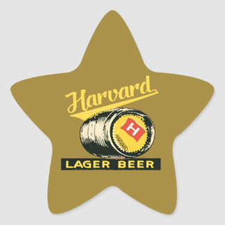 Adesivo Estrela Cerveja de cerveja pilsen de Harvard