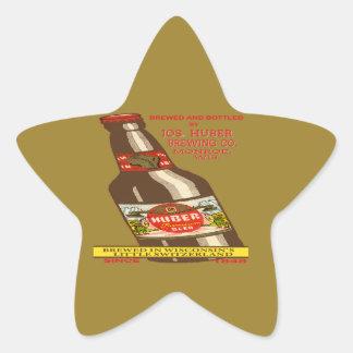 Adesivo Estrela Cerveja de Huber